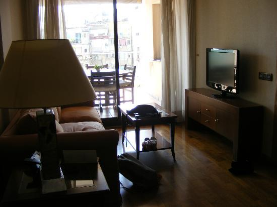 Apartments Restaurant Hispanos 7 Suiza: living area