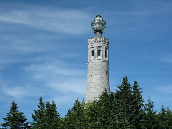 Holiday Inn Berkshires: Observation tower at summit of Graylock Mountain. (Nearby attraction)