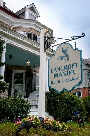 Bancroft Manor Bed and Breakfast: Bancroft Manor