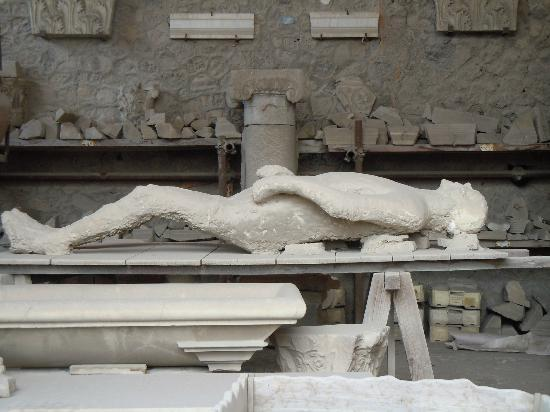 Body Found In Ashes Picture Of Ancient Pompeii Pompeii