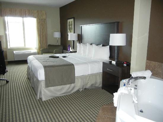BEST WESTERN PLUS Parkersville Inn &amp; Suites: our room