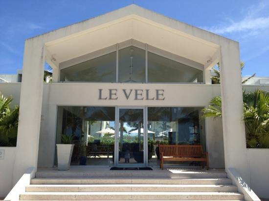 Le Vele Resort: reception