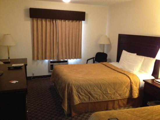 Super 8 Calgary Airport: Super 8 guest room 224