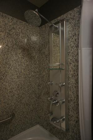 Acclaim Hotel Calgary Airport: Heavenly shower