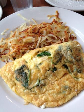 omelette with spinach spinach and feta cheese spinach feta greek ...