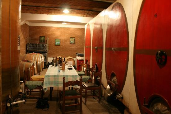 Casa di Maio: Wine tasting at nearby vineyard