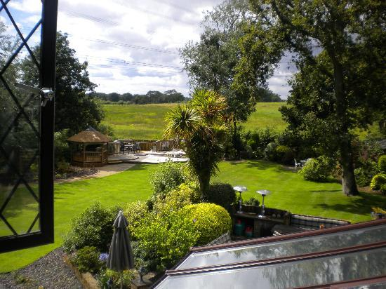 Dale Farm House: View from Bedroom window