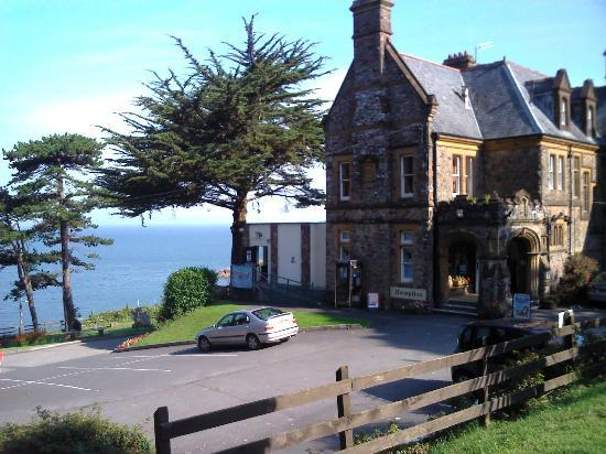 Combe Martin, UK: Main clubhouse and reception area