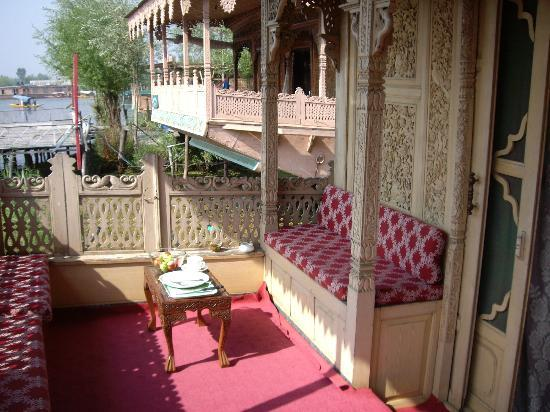 Kolu Houseboats: Terrace of the houseboat