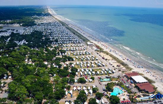 Lakewood Camping Resort: Beautiful Oceanfront beach
