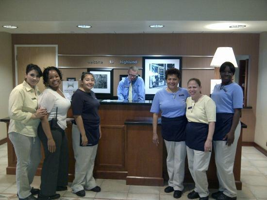 Hampton Inn &amp; Suites Highland: The Houskeeping Staff