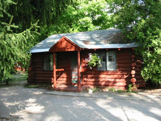 Interlochen, MI: Spruce Log Cabin
