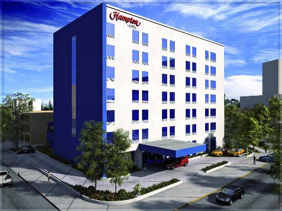 Hampton Inn by Hilton Guadalajara/Expo: Fachada