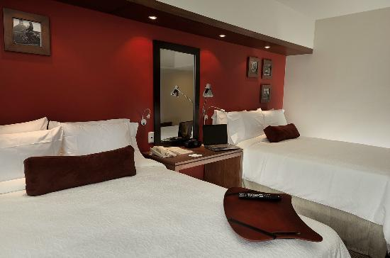 ‪‪Hampton Inn by Hilton Guadalajara/Expo‬: Habitacion Doble‬