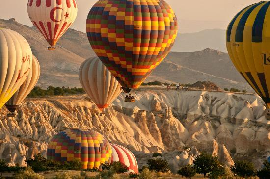 Goreme Balloon Ride - Picture of Urgup Hot Air Balloons ...