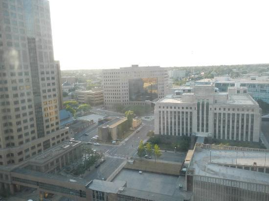 Des Moines Marriott Downtown: View from our room