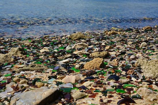 how to look for sea glass