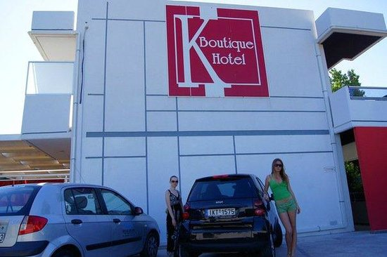 K Boutique Hotel: parking