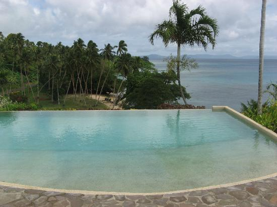 Taveuni Island Resort & Spa: Saltwater pool