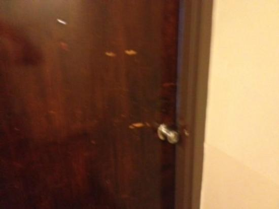 Chinatown Hotel: The door of my room