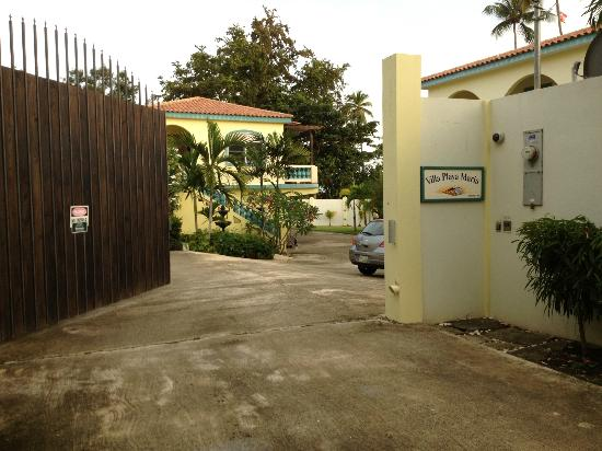 Villa Playa Maria - The Villa on Maria's Beach: Entrance