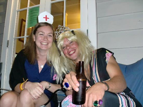 Oaklands Lodge Backpacker Hostel: Fancy dress night @ oaklands