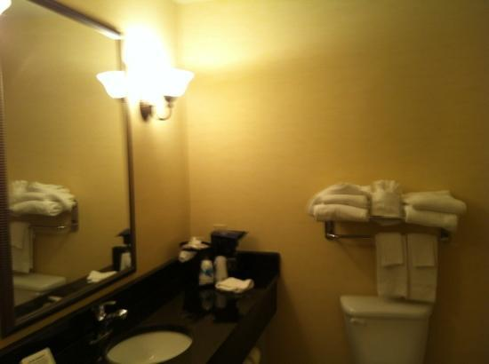 Sleep Inn &amp; Suites of Panama CIty Beach: bathroom
