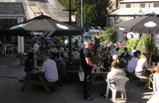 Village Inn Beer Garden Picture Of Bowness On Windermere