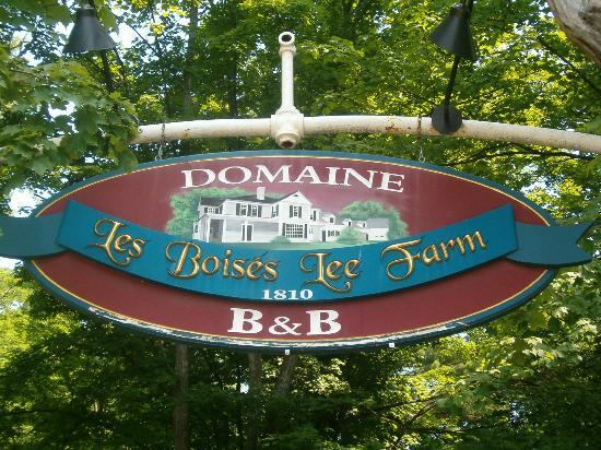 Domaine Les Boises Lee Farm