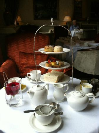 Afternoon Tea At Macdonald Randolph Hotel Oxford