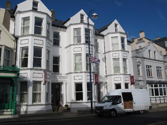 Exterior View Of Adelphi Portrush Our Room Was Right Behind The Head Of The Lamp Post