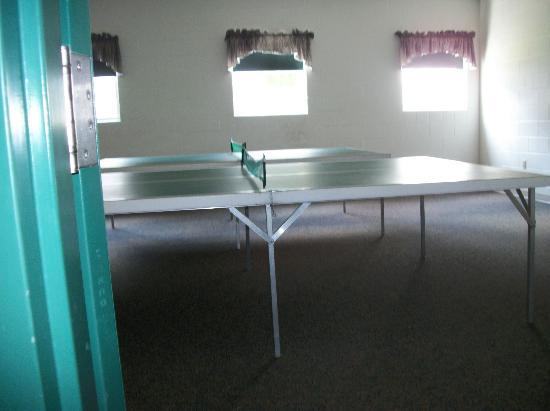 Farmstead Inn: Ping Pong table to use for the guests
