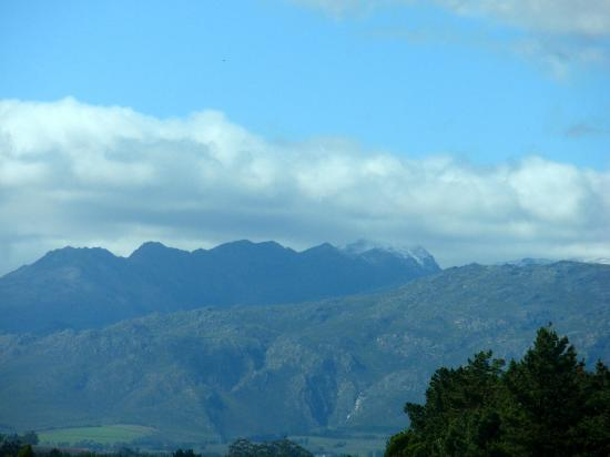 Franschhoek Pass: Peak of Snow