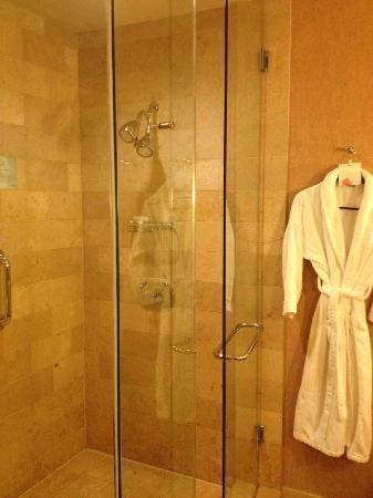 Westin St. Louis: Separate shower