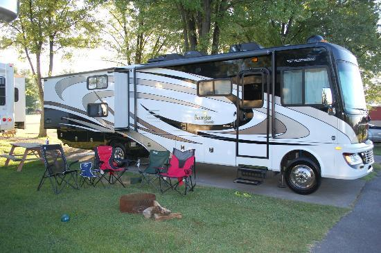 Candy Hill Campground: Our Site