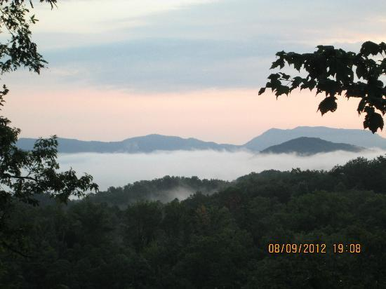 Mountain Rentals of Gatlinburg: view from the back
