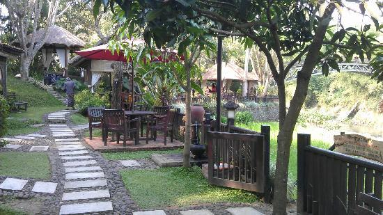 Main Entrance Picture Of Taman Indie River View Resto