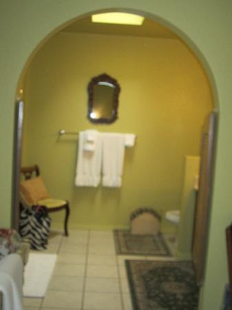 Grace&#39;s Secret Garden B&amp;B: the bathroom