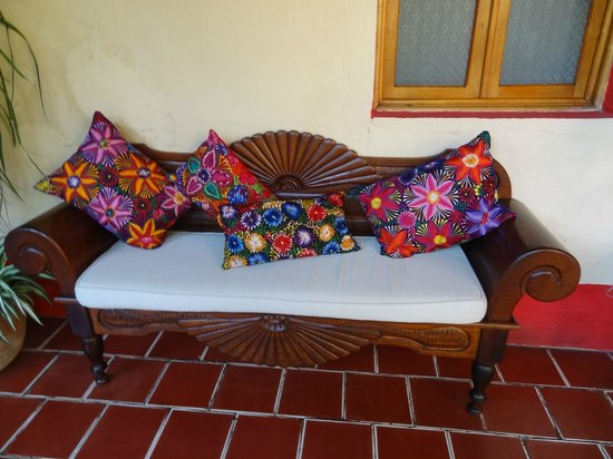 Posada Los Bucaros: Pretty sitting area
