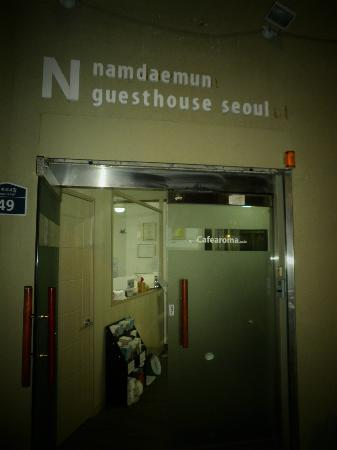 Namdaemun Guesthouse Seoul: Entrance of the GH
