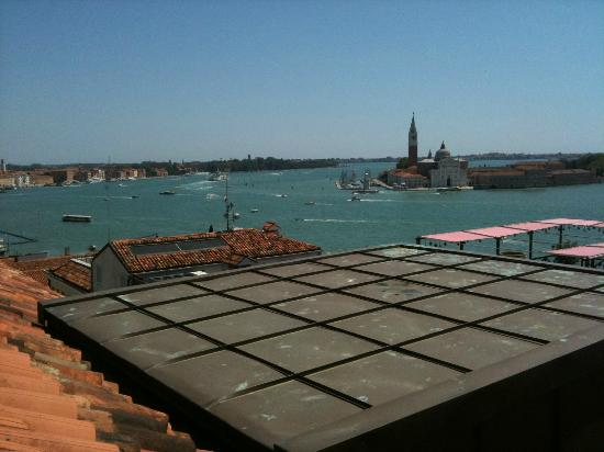 Bauer Il Palazzo: view to left from deck