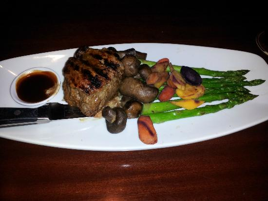 Filet Mignon from the Miami Spice Menu- Yummy - Picture of Seasons 52, Coral Gables - TripAdvisor