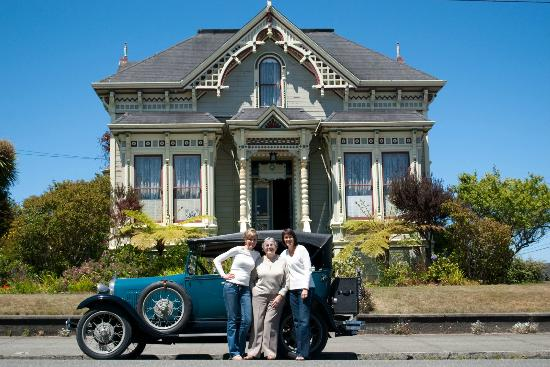 Abigail 39 s elegant victorian mansion historic lodging Cabins eureka ca