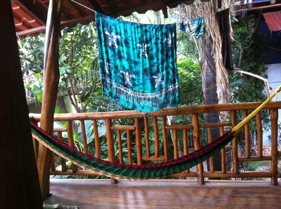 Tico Adventure Lodge: Our porch