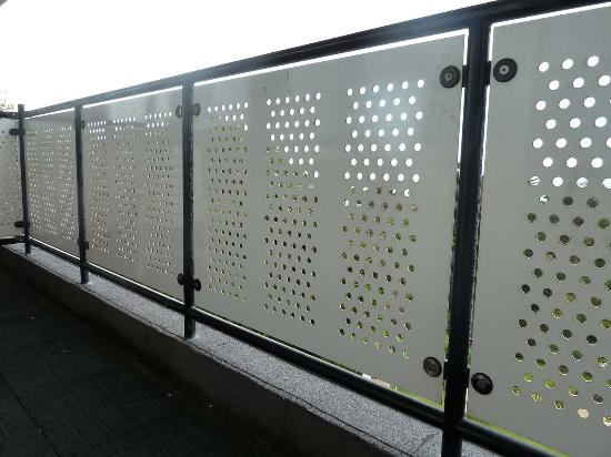 Balcony safety barrier for Balcony barrier
