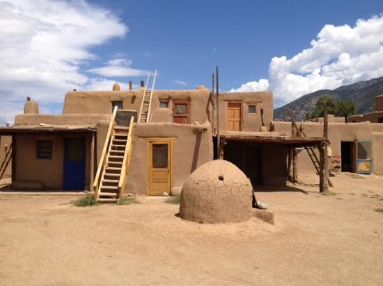 Preserved adobe home picture of taos pueblo taos for Adobe construction pueblo co