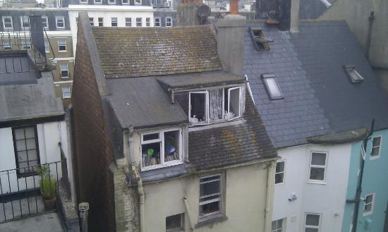 One Broad Street Guesthouse: View from room facing away from the street