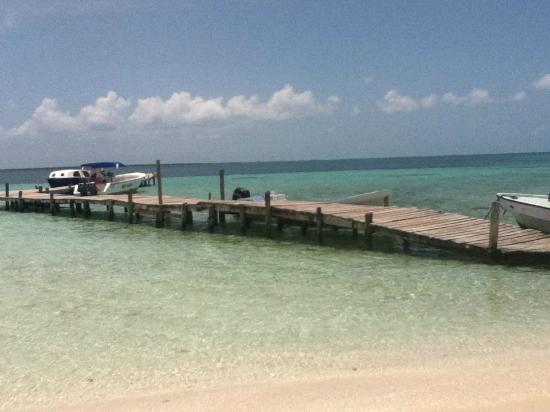 Goff S Caye Picture Of Belize Cruise Excursions Goff S Caye Beach And Snorkeling Tour