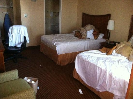 Hotel San Carlos - San Carlos: This is how our room was at check-in