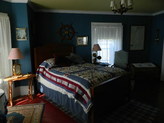 ‪‪A Seafaring Maiden Bed and Breakfast‬: The Captain's Room